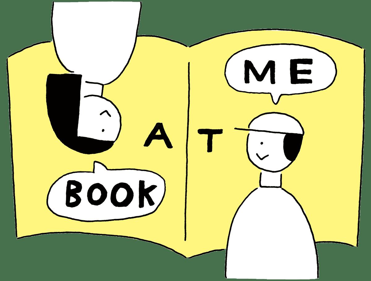 book at me main-v